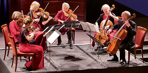 Here is a picture of the London Mozart Players Chamber Ensemble