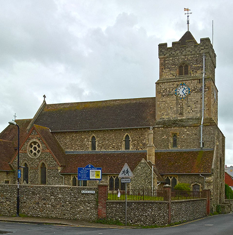 This is a picture of St. Leonard's Church
