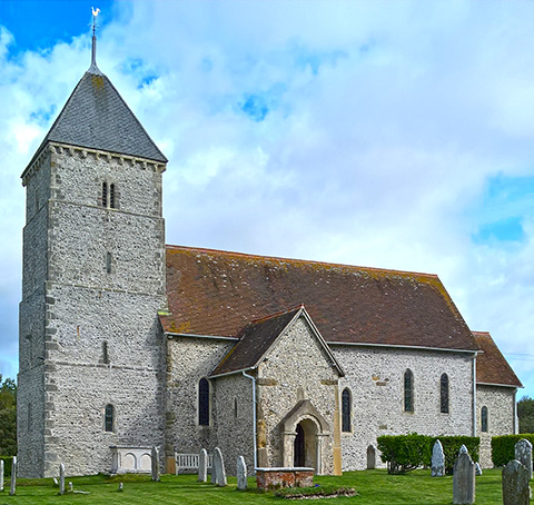 This is a small picture of St. Andrew's Church