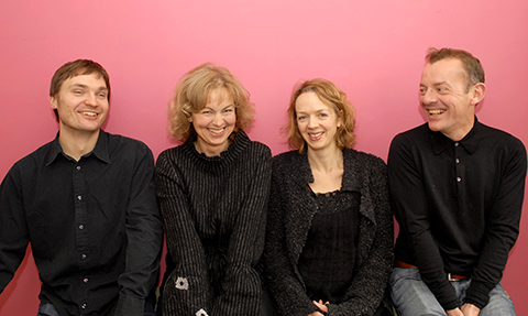 This is a picture of the Touchwood Piano Quartet